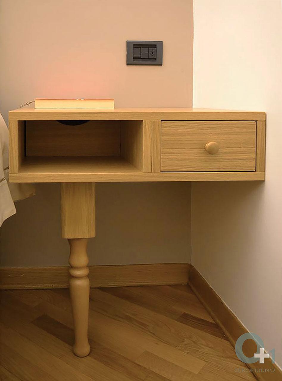 arredo-su-misura-camera-da-letto—design-comodino-con-cassetto-e-vano ...